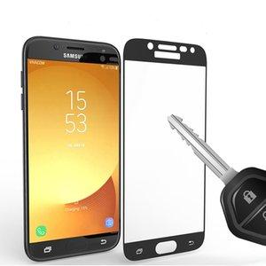 LG Stylo 2 LS775 공 물 HD LS676 X 전원 2 K8 2017 Oppbag에 대 한 전체 커버 강화 유리 화면 보호기
