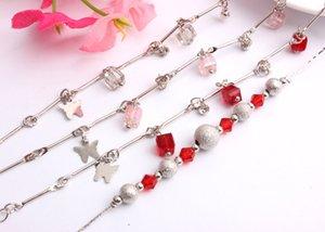 Bracelets à breloques pour femmes filles 2018 Vente chaude coréenne Style Bracelet Femme Idées cadeaux 10pcs Bijouterie