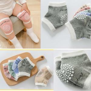 سلامة الطفل الزحف منصات الركبة كارتون الاطفال الركبتين القطن الطفل الركبة منصات حامية الأطفال قصيرة نيباد أعلى جودة الطفل تدفئة الساق