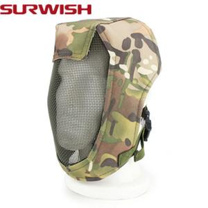 Full Face Airsoft Maske Tactical Schutz Jagd Maske CS Party Paintball Maske