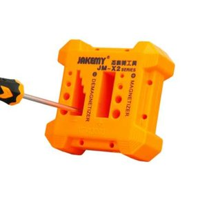 Hohe Qualität JM-X2 Magnetiseur Entmagnetisierungswerkzeug Orange Schraubendreher Magnetic Pick Up Tool Schraubendreher Magnetische Entmagnetisierung