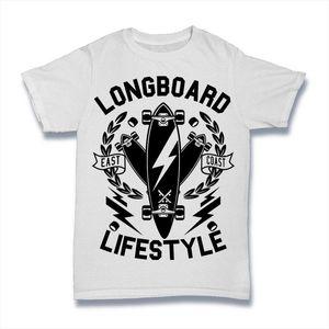 Longboard Estilo de Vida Camiseta Skate Board Uk Mens S-3xl legal Casual Orgulho T Shirt Homens Unisex Moda Tshirt Livre Tops
