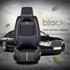 3D все clusive универсальный лен автомобильный коврик четыре сезона аксессуары для интерьера автомобиля полный комплект автокресло крышка