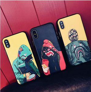 2018 Nice Designer Huawei Phone Case per iPhone X XR XS MAX iphone 8 7 6 6S plus Custodia morbida TPU ape per Samsung Galaxy S7 S8 S9Plus