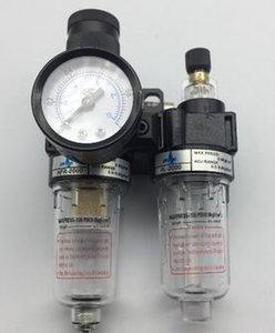 Compresor del aerógrafo del filtro de la trampa del separador de aceite / agua del regulador de presión de aire