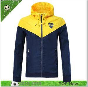 32 Boca Juniors молнии Ветровка с длинным рукавом куртки пальто 2018 2019 BENEDETTO ABILA CARDONA GAGO Тевес зимних видов спорта