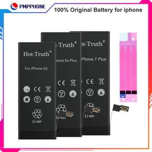 100% Original-Zero-Cycle-Akku mit voller Kapazität für Apple iPhone X 4S 5G 5S 5C 6S 6plus 7 8 Plus XBatteries Ersatz mit Batterie-Aufkleber
