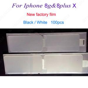 Neue Fabrik Film für iPhone 8G 8plus plus x Refurbish Vorderseite + Rückseite refurbish Schirm-Schutz-Aufkleber Neuen Telefon-Film für iPhone 8