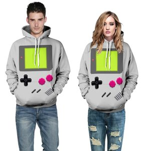 Nuevo Anime Fashion Men / Women Unisex Couple Sweatshirt 3d Print Adventure Hooded Men Hoodies con gorro bolsillos Lovely Tracksuits