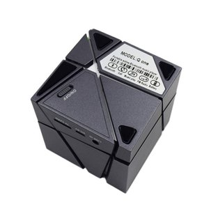 Новый Qone Mini Cube Динамики 3D Stereo Sound Портативный Bluetooth-динамик Беспроводная Музыкальная Шкатулка Поддержка TF Карта С Розничной Коробке хорошо