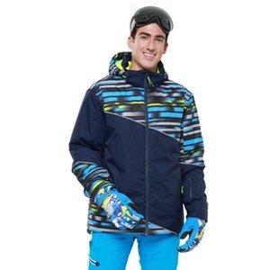 Combinaison de ski hommes hiver nouvelle extérieure coupe-vent imperméable thermique pantalon de neige masculin définit Ski et snowboarding veste de ski hommes marques