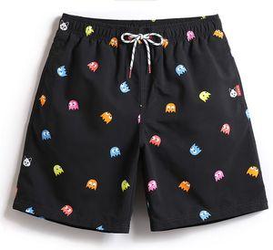 Beach Shorts Herren Bademode Liner Mesh Sweat Badehose Siwmsuits Sexy Black Plavky Herren Badeanzüge Quick Dry Surf Bermuda
