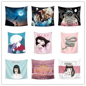 9 Design-ethnische Art Wandbehang Tapisserie Schlafzimmer-Dekoration Strandtuch Picknick-Decke Tischdecke Yoga-Matten-Party-Kulisse