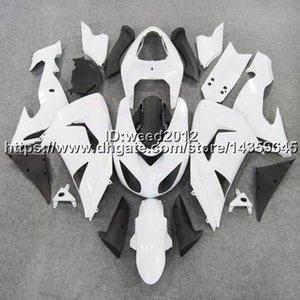 Carénage de moto 23colors + 5Gifts blanc pour kit moteur panneaux KAWASAKI Ninja ZX10R 2006 2007 ZX-10R 06 07ABS