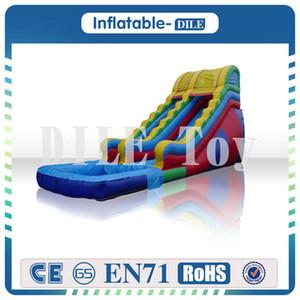 Livraison Gratuite Porte À Porte Enfants Gonflable Glissière D'eau Bounce House Jumper Bouncer Jump Bouncy Castle