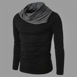 IZQUIERDA ROM Primavera y otoño son hombres de negocios de punto puro de algodón casual hombres de alta calidad suéter de lana de manga larga puro S917