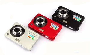 "Yüksek kalite! HD Mini Dijital Kamera 18MP 2.7 ""TFT 8x Zoom Gülümseme Yakalama Anti-shake Video Kamera 1280 * 720"