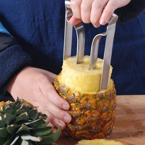 New Hot Style Stainless Steel Fruit Pineapple Slicer Peeler Cutter Kitchen Tool Pineapple Peeler free shipping