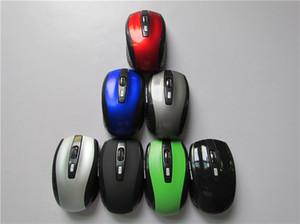 6 개의 주요 게이밍 마우스 2.4GHz 2000DPI 마우스 광학 무선 마우스 USB 수신기 PC 컴퓨터 무선 노트북 용