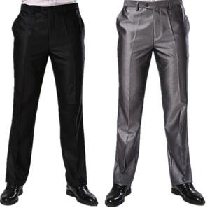 Men Trousers Two Colors Formal Business Dress Pants Big Sizes Slim Fit Brand Design Long Skinny Trousers CBJ-F1317