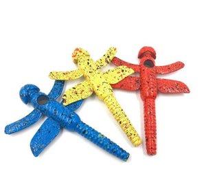Kreative Neuheit Dragonfly Rohre, Mode Farbe Dragonfly Modellierung von Metall Rauchen Zubehör