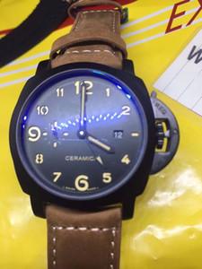 Orologio sportivo da uomo, movimento automatico, acciaio inossidabile, orologio da uomo