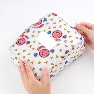 Women Cosmetic Bag Multifunction Organizer Waterproof Portable Makeup Bag Travel Necessity Beauty Case Wash Pouch