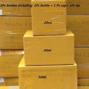 1000шт ПЭТ бутылка для масла 30мл 50мл 60мл 100мл 120мл Пластиковые флаконы для масла Vape Dropper Vape Черные или прозрачные с защитными от вскрытия крышками от детей