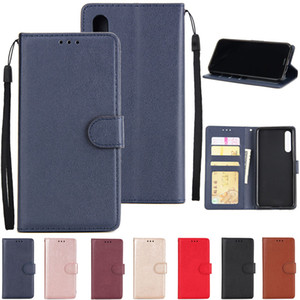 HS бумажник PU кожаный чехол с Photo Frame Card Slot для Huawei P8 P9 P10 2017 P20 P30 P40 Pro Mate 10 20 30 Nova 3i 4 5i 7i P20 Lite 2019