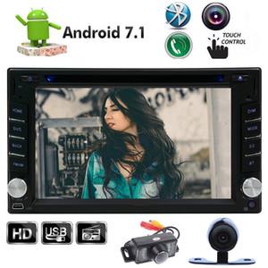 Frontal Cámara trasera Octa-Core Android 7.1 Coche Reproductor de DVD 2GB RAM 32 GB ROM 6.2 '' 1024 * 600 Pantalla táctil Doble 2D en navegación GPS Blueooth