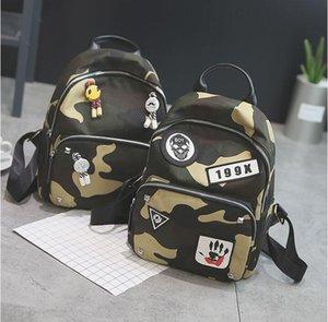 2018 Schoolbag Bebek sırt çantası Çocuk çantaları Anaokulu Öğrenci sırt çantası Çocuk çantası Tuval + Naylon Okul Çantaları Sevimli karikatür A10