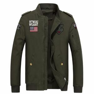 Hombres chaqueta táctico soldado bombarderos del ejército 100% coon un macho de otoño del resorte de carga para hombre de las chaquetas de 1718