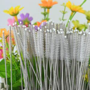 Nylon Brush for Straws Cleaning Tools for Stainless Steel Straws Feeding Bottle Cleaner Pipe Cleaner 100pcs