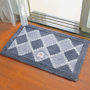 Flocking Non-slip Mat Indoor Outdoor Doormat Large Small Inside Outside Front Door Mat Rechangle Carpet Floor Rug 20