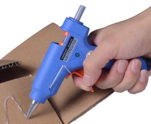 Riscaldatore ad alta temperatura professionale di trasporto 20W colla a caldo pistola all'ingrosso Strumento di riparazione calore caldo con bastoncini di colla a caldo libero Melt