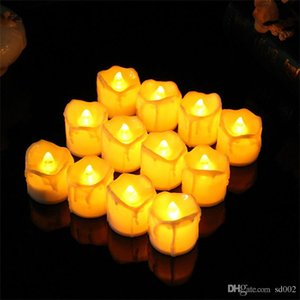 Creative LED Light Up Candle Safety Plastic Electronic Candle Glowing In The Dark Bougie For Birthday Partydecoration 1 7rx BB