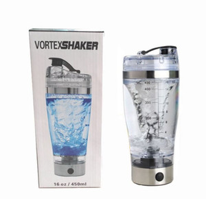 450 ml BPA Ücretsiz Protein Shaker Vortex Tornado Blender Benim Su Şişesi Taşınabilir Elektrikli Otomatik Hareketi Karıştırma Karıştırıcı Akıllı Fincan Yeni