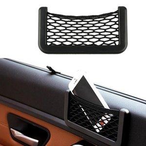 15X8 cm Ile Evrensel CAr Otomotiv İç Çanta Yapıştırıcı Visor Araba Net Trunk Organizatör Cepler Net Araba Styling