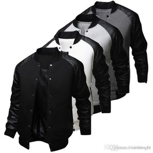 Großhandelsart- und weisemens-Fall-amerikanischer Art-Uni-Baseball Lettermann-Hochschuluniversitäts-Jacken-Mantel M-XXL geben Verschiffen frei