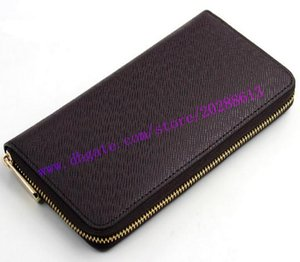 Top Quality Embossed ZIPPY Black Leather WALLET Zipper M61865 M61864 Wallet Empreinte Women Long Real Red Cowhide Eounf