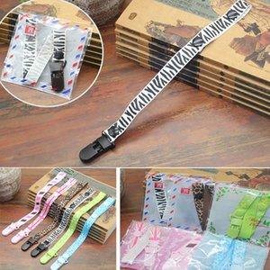 36 * 1.6 cm sostenedores del chupete del bebé Clip para niños y niñas Clips de dentición de plástico Universal Holder Leash para chupetes juguetes para la dentición HH7-903