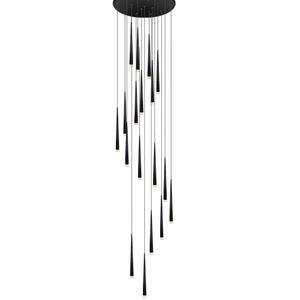 Novidade Longa Tubo de Espargos de Metal Sala de Jantar Pingente de Luz Bar Counter Quarto Sala de Jantar Quarto Escada Pendant Luminárias