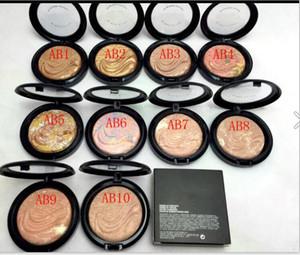 Polvo Skinfinish más nuevo de la dimensión extra Polvo prensado cara de la marca de bronce natural Cheeky 10 colores 9g