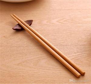10 pares de prueba de molde de bambú largo palillos hogar portátil antideslizante traje de vajilla cocina de alto grado artículo 1 7bs ii