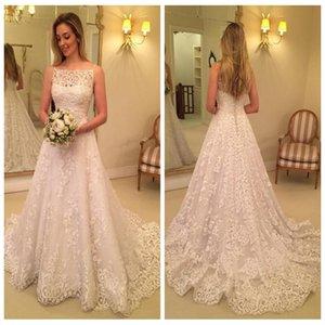 2018 مثير السباغيتي الأشرطة الرباط يزين فساتين الزفاف أثواب الزفاف زر المغطاة عودة vestidos جودة عالية vestidos دي mariee