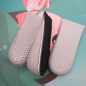 Nova Chegada 1 Par Respirável Meia Palmilha Aumentar Calcanhar Inserir Homens e Mulher Esportes Altura Aumento Palmilhas Sapatos