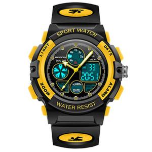 Enfants Sport Montre numérique, Mode Garçons Filles Montres Waterproof Outdoor enfants analogique montre à quartz calendrier Réveil Chronomètre