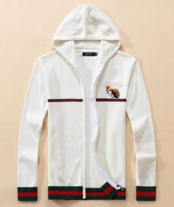 CALIENTE Envío Gratis diseñador kanye con capucha G suéter de los hombres sudadera Harajuku Street G Hoodie hip-hop lobo cabeza bordado con capucha con capucha G681