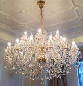Kristal avize oturma odası lüks atmosfer restoran yatak odası ev lamba Llights avize villa merdiven yemek Odası avize