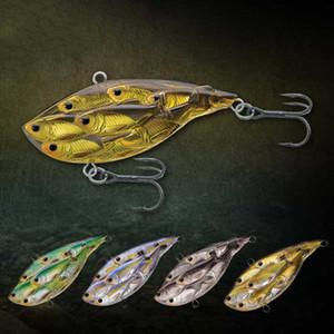 venta al por mayor 2018 nuevo 5Pieces Group Vib señuelo de la pesca 10cm / 15g Bass Bait manivela Wobbler Tackle plástico duro Lure Lake River
